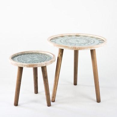 Duo Tavolini Tribali