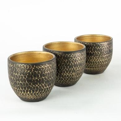 Trio Cache-pots Morocco - S / 12cm