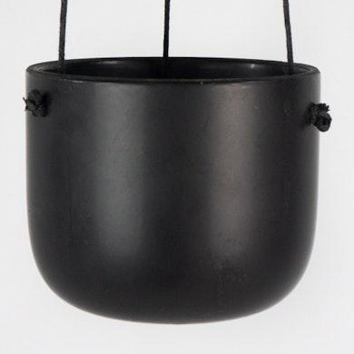 Cache-pot suspendu Black - S/11cm