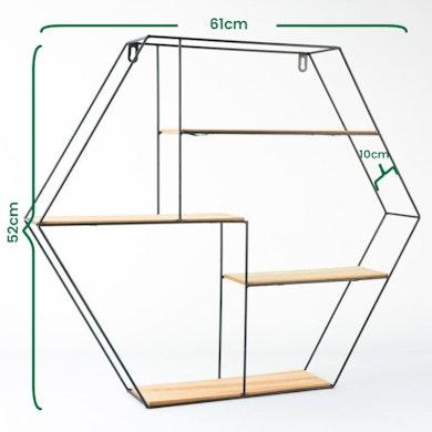 Étagère Hexagonale