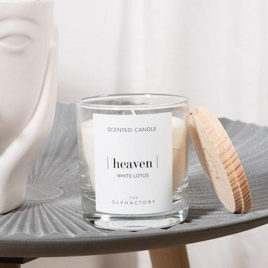Bougie parfumée White Lotus