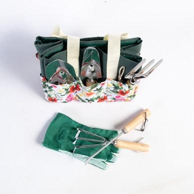 Bolso botanico con herramientas