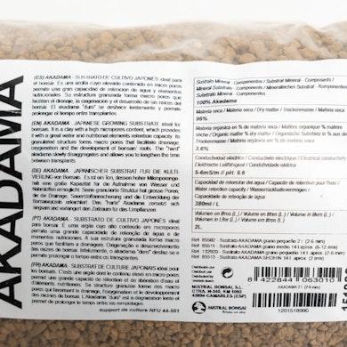 Sustrato para Bonsái Akadama