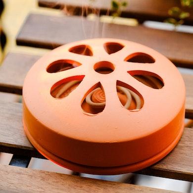 Anti-moustique à la citronelle en terre cuite